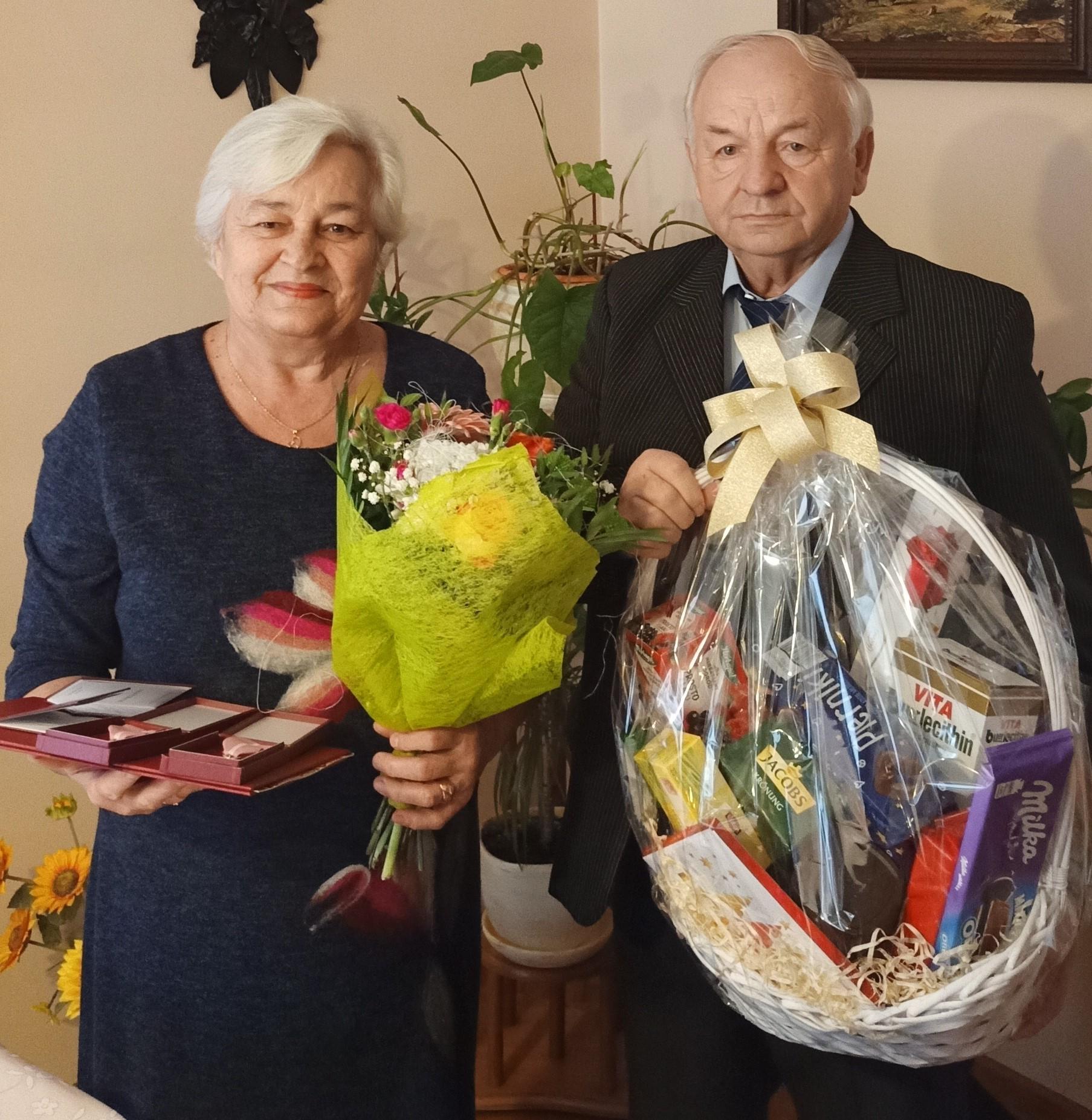 Krystyna i Stanisław Miłoszewscy