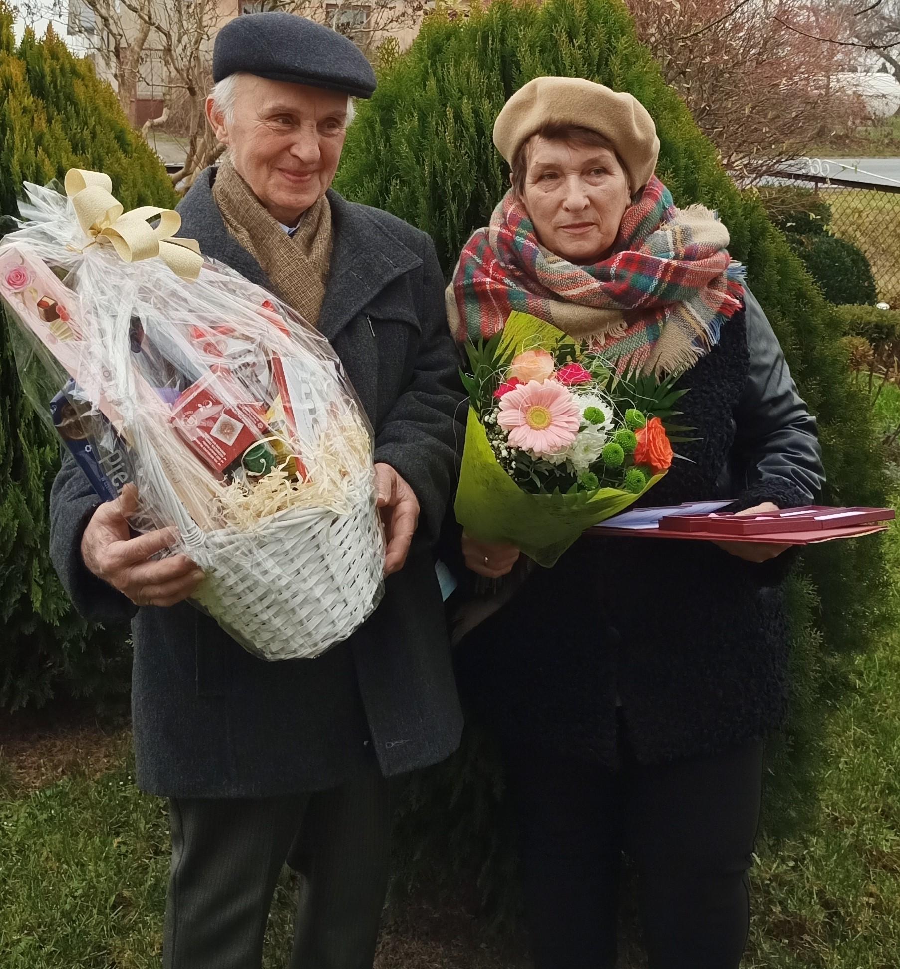 Mirosława i Ryszard Izydorczyk